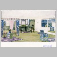 Baillie Scott, A Country Cottage, Bedroom, The Studio, vol.25, 1902, p.91.jpg