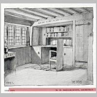Baillie Scott, A Country House, The Den, The Studio, vol.19, 1900, p.36.jpg