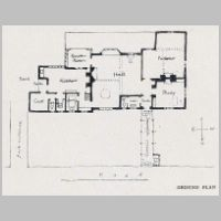 Baillie Scott, A Small Country House, Ground plan, The International Yearbook of Decorative Art, 1918, p.14.jpg