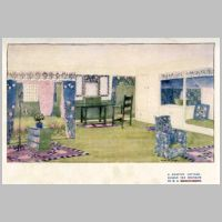 Baillie Scott, Country Cottage, Bedroom, The International Studio, vol.16, 1902, p.91.jpg