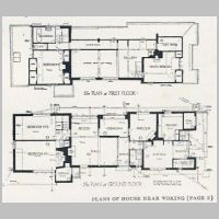 Baillie Scott, House near Woking, Plans, The Studio Year Book of Decorative Art, 1915, p.3.jpg