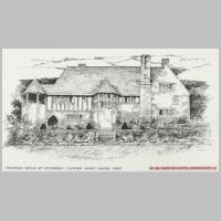 Baillie Scott, Proposed House at Guildford, Garden Front, The Studio, vol.46, 1909, p.294.jpg