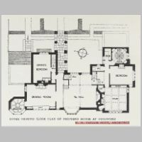 Baillie Scott, Proposed House at Guildford, Upper Ground Floor Plan, The Studio, vol.46, 1909, p.294.jpg