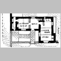 E. Gimson, Lea Cottage, Ground floor plan, , Elder-Duncan, J.H., Country cottages and week-end homes, p.116.jpg
