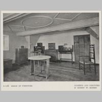 Gimson, Group of furniture, The Studio Yearbook Of Decorated Art, 1908, B 116.jpg