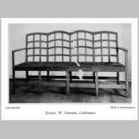 Gimson, Ernest, Oak settee,Source Walter Shaw Sparrow (ed.), The Modern Home, p. 111.jpg