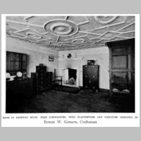 Gimson, Ernest, Room in Daneway house, Source Walter Shaw Sparrow (ed.), The Modern Home, p. 127.jpg
