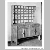 Gimson, Ernest, Sideboard, Source Walter Shaw Sparrow (ed.), The Modern Home, p. 129.jpg