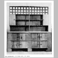 Gimson, Ernest, Sideboard, Source Walter Shaw Sparrow (ed.), The Modern Home, p.129.jpg