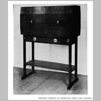 Gimson, Ernest, Writing cabinet, Source Walter Shaw Sparrow (ed.), The Modern Home, p. 113.jpg